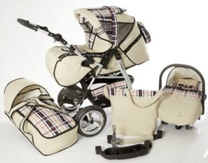 Kinderwagen Set von Icaddy